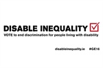 Disable Inequality: DFI Campaign
