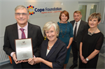 Cope Foundation has achieved CHKS accreditation and ISO certification 9001:2008